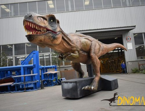 Analysis of animatronic dinosaurs in the first half of 2019