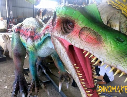 Animatronic Dinosaur Exhibition Heavy Claw Dragon