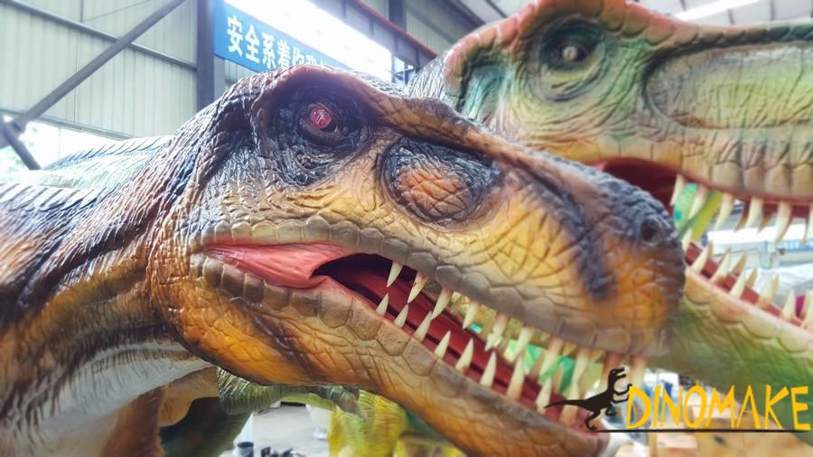 Animatronic Dinosaur Exhibition in Country Garden