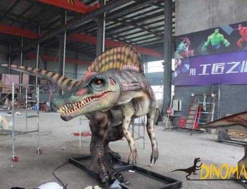 Animatronic Dinosaur Integration