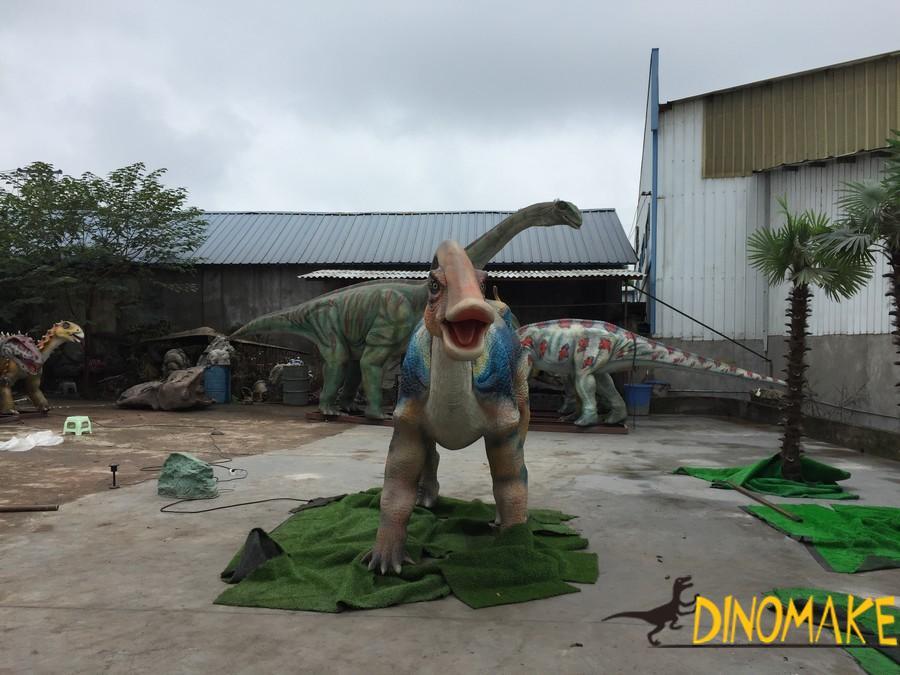 Animatronic Dinosaur Factory To Restore Dinosaur Fossils