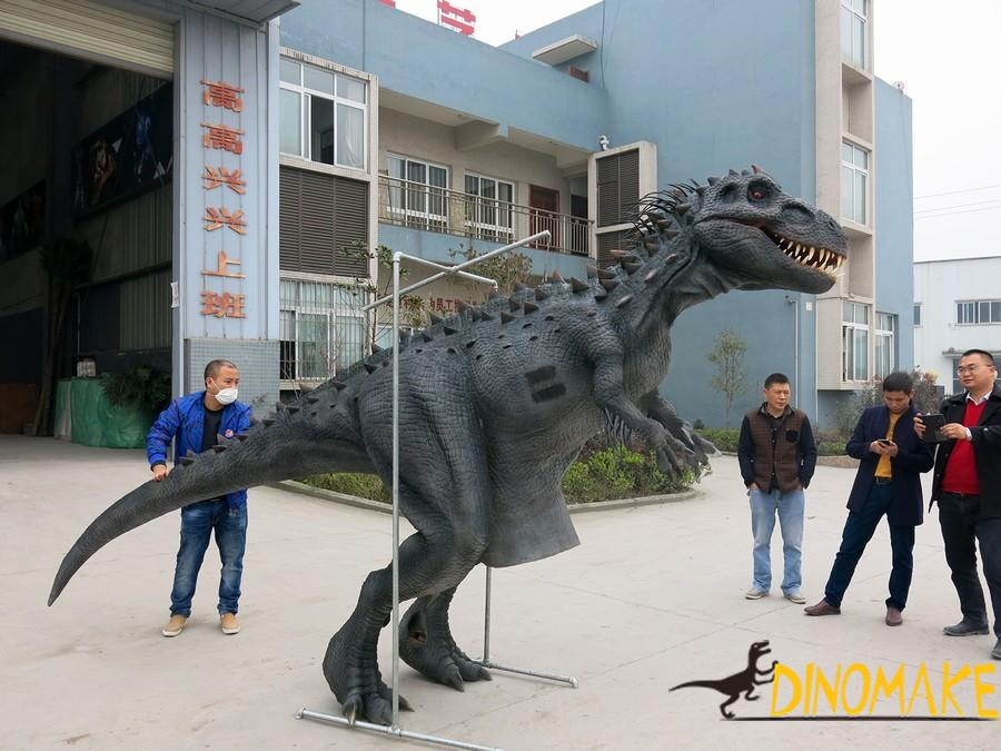 Animatronic Dinosaur Costume Is Make