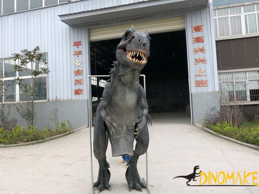 Animatronic Dinosaur Costume Is Manufactured