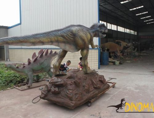 Big brother Emei dragon in animatronic dinosaur