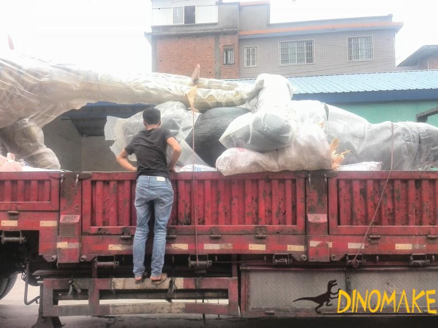Features of animatronic Mamenxi Dinosaur