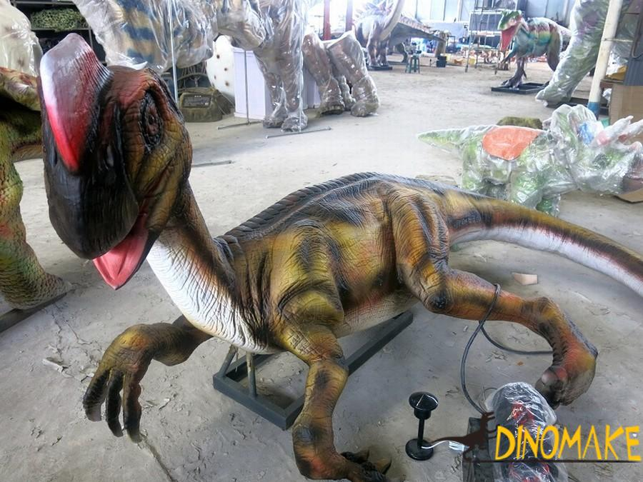 How much does a animatronic dinosaur sell or lease