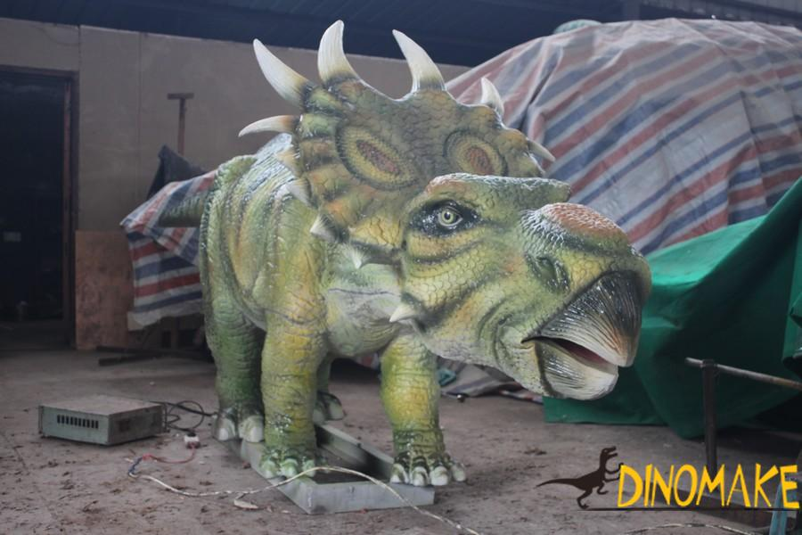 How to do a animatronic dinosaur product exhibition