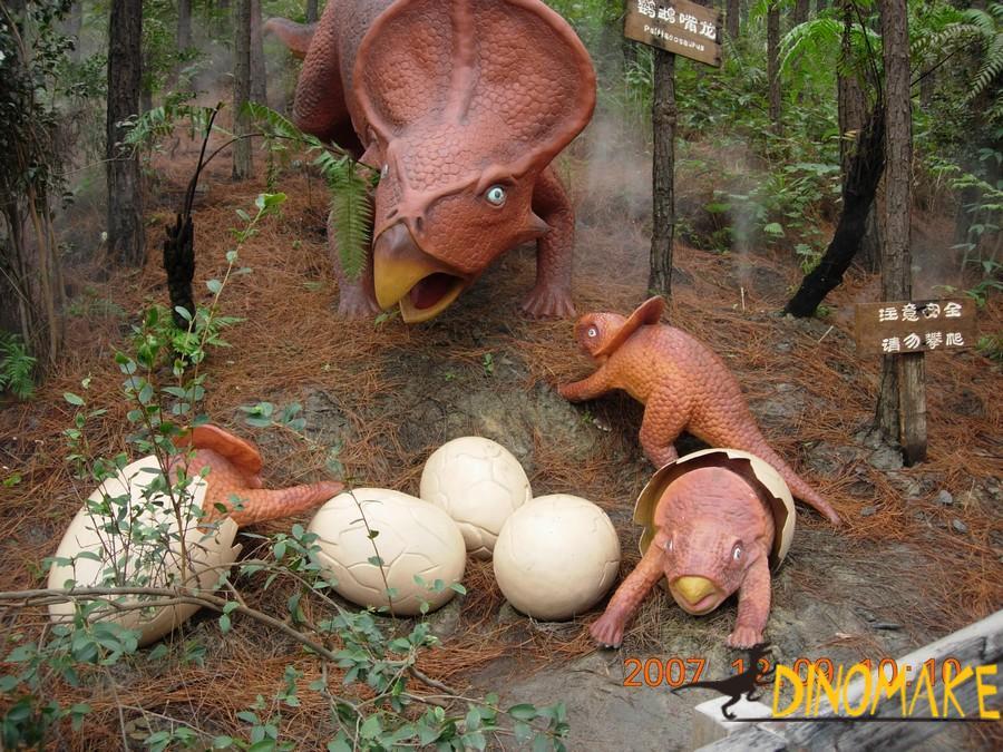 International Jurassic Dinosaur Exhibition ends