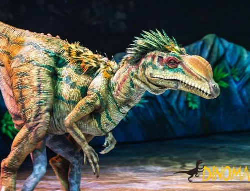 Jurassic Park Live Dinosaur Costume