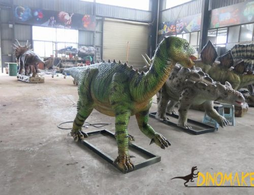 Large dinosaur exhibition is bursting