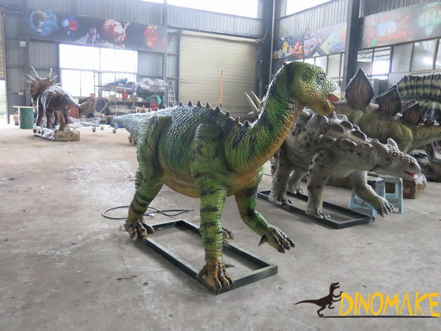 Large dinosaur exhibition is bursting