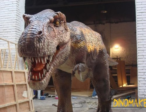 Manufacturing method of animatronic T-rex