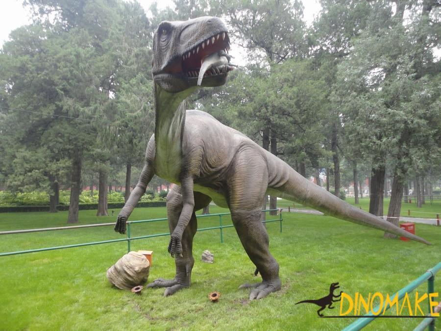National Day Golden Week Dinosaur Exhibition Fruitful
