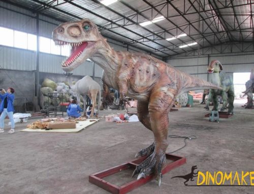 New chapter in animatronic dinosaur exhibition