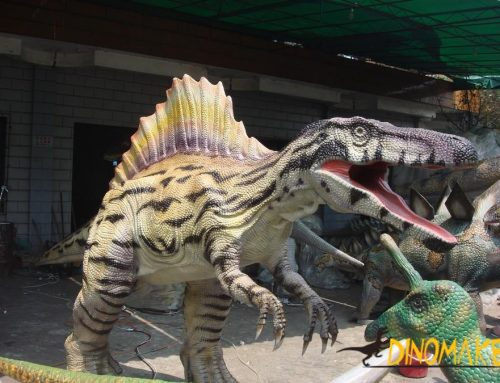 The golden age of the animatronic dinosaur exhibition 2019