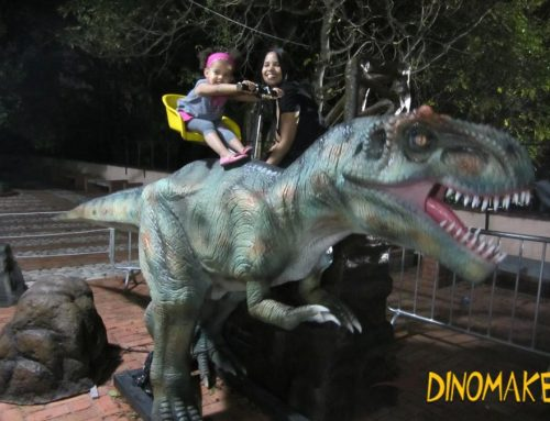 The largest animatronic dinosaur rental company in China