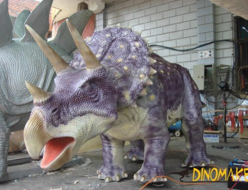 The world's best about animatronic dinosaurs