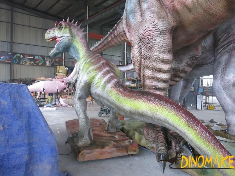 Unfeathered Jurassic Hunter
