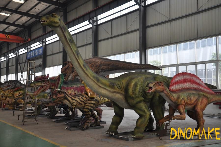 Where is the Dinosaur Exhibition Rental Company