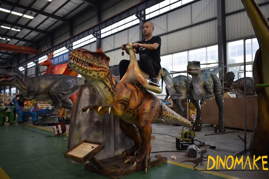 Where to rent large animatronic dinosaurs