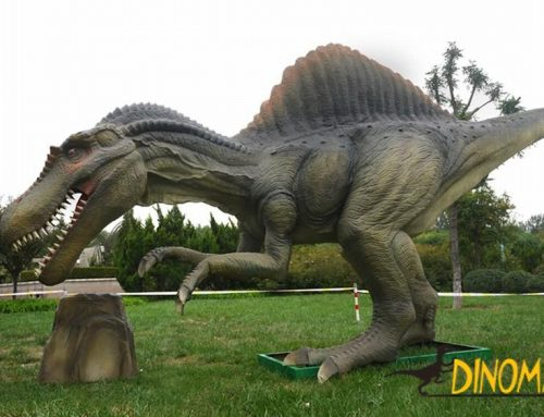 You don't know the animatronic spinosaurus