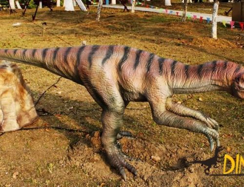animatronic Coelophysalis you didn't know about in the Jurassic exhibition