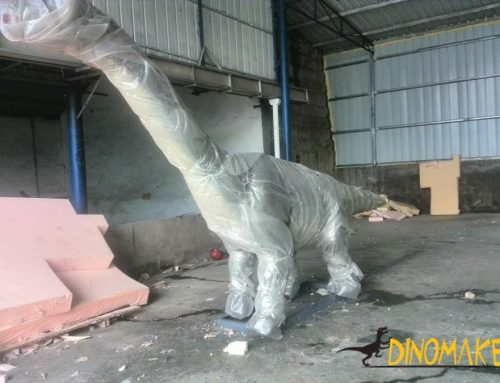 animatronic of dinosaur interior materials