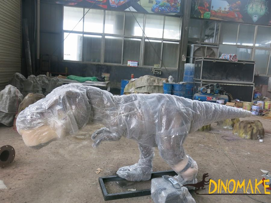 animatronic of dinosaurs production process
