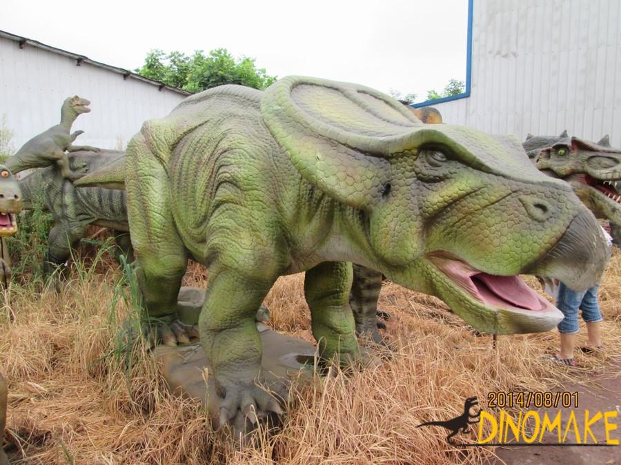 animatronic of the past and present of the dinosaurs Yongchuan Dragon