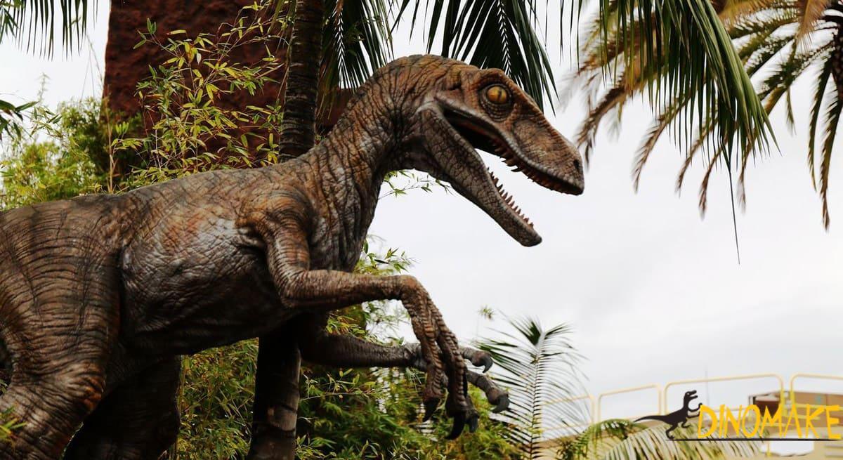 All Animatronic Dinosaurs Are Handmade