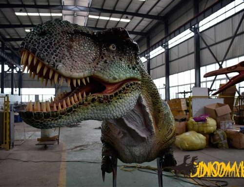 Custom designed Ride Animatronic Dinosaur