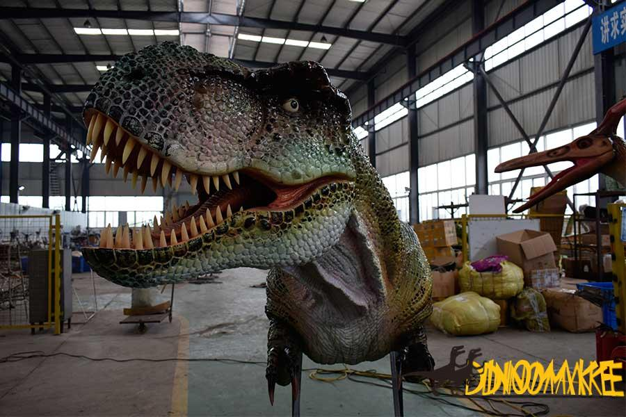 Custom Designed Ride Animatronic Dinosaur