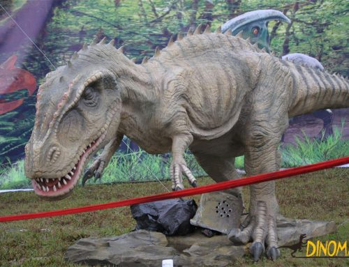 Custom huge Animatronic dinosaur