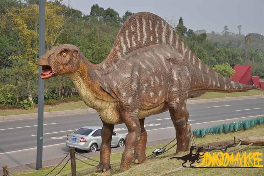 Economic Development Zone Animatronic Dinosaur Exhibition