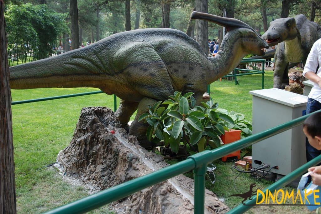 Fiberglass Static Dinosaur Props