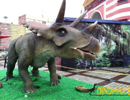 Future development trend of animatronic dinosaur