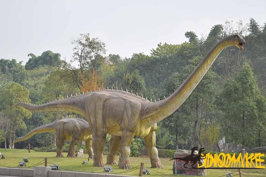The Production Method Of Sculpture Dinosaur