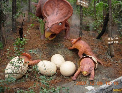 How long does it take to hatch a dinosaur egg?