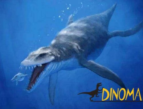 A giant dinosaur that lived in the ocean 250 million years ago